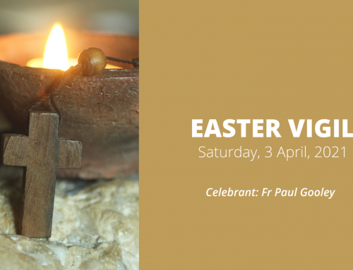Saturday Easter Vigil (3 April)
